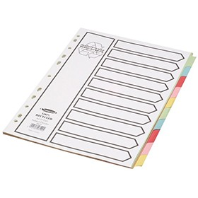 Concord Reclaim 10-Part A4 Dividers 48199 - File Dividers