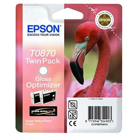 Epson T0870 Gloss Optimizer Twin Pack C13T08704010