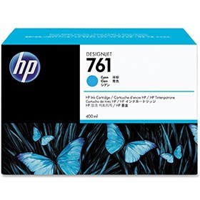 Hewlett Packard NO761 Cyan Inkjet Cartridge 400ml CM994A