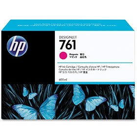 Hewlett Packard NO761 Magenta Inkjet Cartridge 400ml CM993A