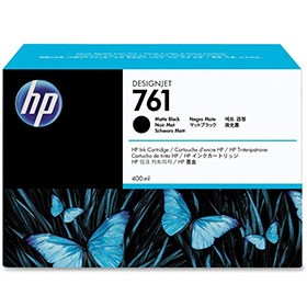 Hewlett Packard NO761 Matte Black Inkjet Cartridge 400ml CM991A