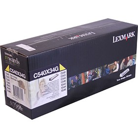 Lexmark Developer Unit Yellow C540X34G - Printer Developer