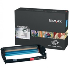 Lexmark E260 E360 E460 Photoconductor Black 0E260X22G - Printer Drums