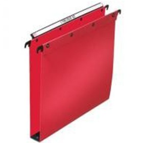 Lobique 30mm Red Foolscap Suspension Files - Fullscap Suspension & Lateral Files