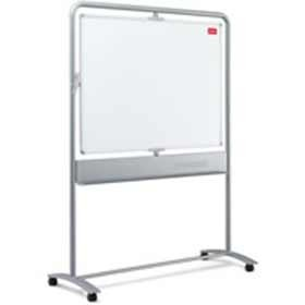 Nobo Mobile Magnetic Vertical Steel Whiteboard 900 x 1200mm 1901030