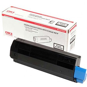 OKI C5250 High Yield Black Toner Cartridge 42127457