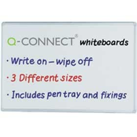 Q-Connect Dry Wipe Board 900 x 600mm KF37015