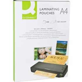Q-Connect Laminating Pouch A4 125 Micron KF04116
