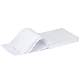Q-Connect Listing Paper 11.6 Inches x 235mm A4 1-Part 70gsm Plain Micro-Perforated KF50068