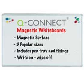 Q-Connect Premium Magnetic Dry Wipe Board 1800 x 1200mm KF04148