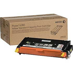 Xerox Phaser 6280 Standard Capacity Yellow Toner Cartridge 106R01390