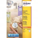 Avery Round Product Labels Permanent 24 per Sheet 40mm Diameter White Ref L3415-100 [2400 Labels]
