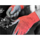 Polyco Gloves Nitrile Foam Coated 15 Gauge Size 9 Red/Black [Pair] Ref MRN/09