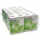 Maxima Green 2-Ply White Toilet Roll 200 Sheet (Pack of 48) KMAX200G