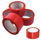 LEGAL TAPE CLOTH RED 38MM X 50M