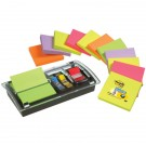 3M Post-It 12 Pad Value Pack With Dispenser