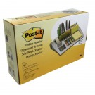 Post-it Desk Organiser Silver 7000062207