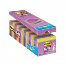 Post-It Super-Sticky +3 FREE 654-SS-VP24COL-EU