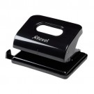 Rexel Black Lon-Handled Metal Ecodesk 2-Hole Punch REF 2102616
