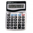 Aurora Grey/Black 12-Digit Desk Calculator DT303