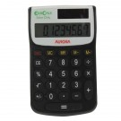 Aurora Black /White 8-Digit Handheld Calculator EC101