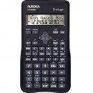 Aurora Black 2-Line Scientific Calculator AX582BL