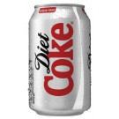 Diet Coca Cola Can 330ml A00749