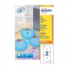 Avery Full Face Cd/Dvd Laser Label L7676-100