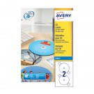 Avery Full Face CD/DVD Inkjet Label White J8676-100