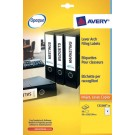 Avery Eurofolio File Label Sheets L7170-25 - Filing Accessories
