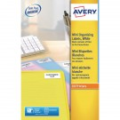 Avery Laser Label 35 Slide White 84 Per Sheet L7656-25 (Fpc)