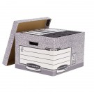 Fellowes R-Kive System Grey Storage Box 01810 - File Storage Boxes