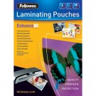 Fellowes A4 Enhance Laminating Pouches 160 Micron (Pack of 25) 53962