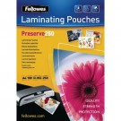 Fellowes Laminating A4 Pouch 500micron Preserve 54018 (Pack of 100)