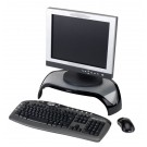 Fellowes Smart Suites Monitor Riser Black/Clear 8020101