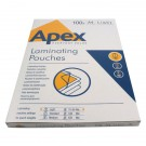 Fellowes Apex Light Duty A4 Laminating Pouches 150 Micron Clear (Pack of 100) 6003201