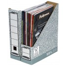 Fellowes Grey/White R-Kive Magazine File 01860 - Magazine Rack