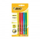 Bic Brite Liner Highlighters Assorted (Pack of 5) 893133