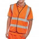 Hi-Viz Vest Orange EN ISO 20471 Medium