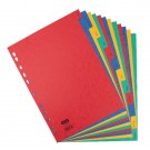 Elba January-December Pressboard A4 Dividers 400007517 - File Index