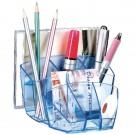 CEP Ice Blue Desk Tidy 580I - Desk Organisers