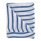 Contico Hygiene Cloth 16x12 Blue/White Pack of 10 HDBU1610P - Cleaning Cloths