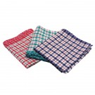 Tea Towel Check Design Pack Of 10 - Cleaning Cloths