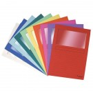 Exacompta Forever Bright Window Files A4 Assorted (Pack of 100) 50100E