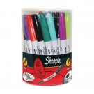 Sharpie Permanent Marker Fine Assorted (Pack of 36) S0811090