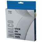 Halco Stick On Hook Roll 20mm x 10m 20AWH10(BOX)