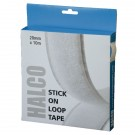 Halco Stick On Loop Roll 20mm x 10m 20AWL10(BOX)