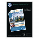 HP Laser Photo Paper Matt 200gsm A4 100 Sheets Code Q6550A