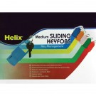 Helix Assorted Medium Sliding Key Holders Pack Of 50 F34020 - Key Fobs