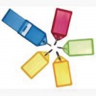 Helix Assorted Large Sliding Key Fobs Pack Of 50 F35020 - Key Fobs